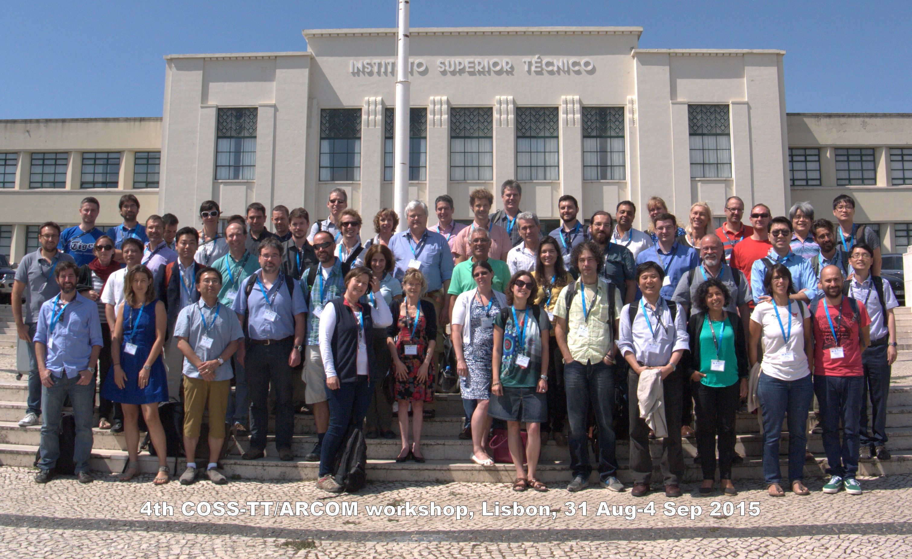 COSS-TT/ARCOM workshop group photo