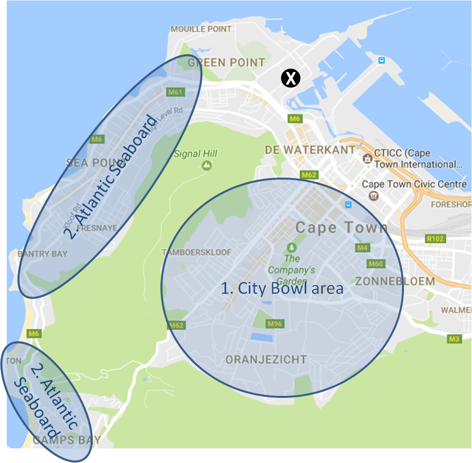 Cape Town areas