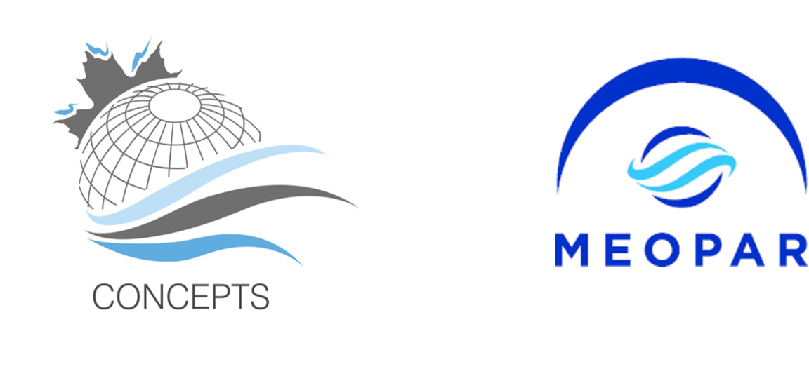 CONCEPTS and MEOPAR logos
